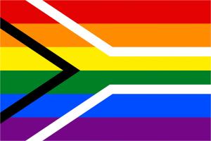 SA LGBTIQ+ flag